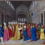 Sacre de Charlemagne par le pape Léon III