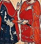 Frederic II et Al Kamil signe le traité