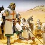 Les croisés arrivent en Terre sainte