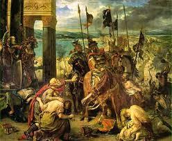 Les croisés à l'assaut de Constantinople