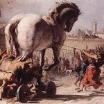 Le Cheval rentrant dans Troie