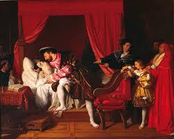 François 1er au chevet de Léonard de Vinci