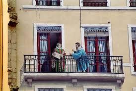 Maurice de Scève et Pernette du Guillet sur le mur des célébrités à Lyon